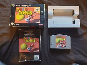 Mario Tennis Nintendo 64 juego N64
