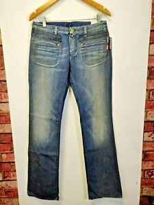 Womens-Jeans-Denim-Ladies-Diesel-Crossim-Slim-Bootcut-Ladies-trousers-blue-BNWT