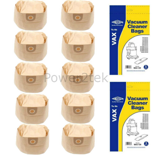 10x 1S Vacuum Cleaner Bags for Vax P2100 POWA4000 POWER 7 Hoover NEW