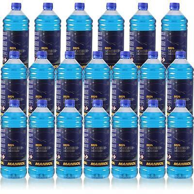 20x1 Litro Originale Mannol 5024 Dischi-detergente Per -70 ° C Antigelo Concentrato-ger -70 °c Frostschutz Konzentrat It-it
