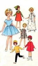"""VINTAGE 8"""" PENNY BRITE DOLL CLOTHES Pattern 6207"""
