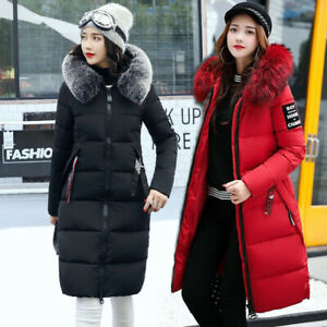 Women's Long Down Coat With Hood, Winter Coats for Women