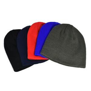 Men-Women-Beanie-Hat-Hip-Hop-Wool-Knitted-Ski-Cap-Skull-Warm-Winter-Cuff-Unisex