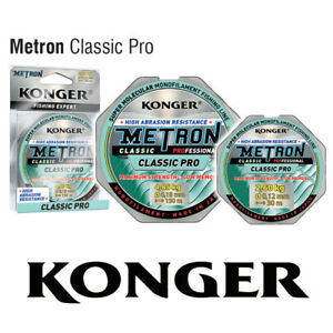 Konger Angelschnur Metron Classic Pro Spule 150m Monofile