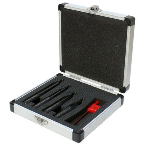 4 PC 1//2/'/' Shank Indexable Boring Set Free TCMT Insert Turning Lathe Tool Holder
