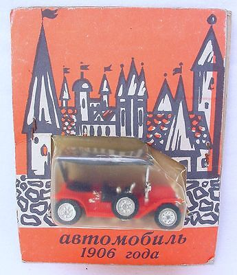 Russian USSR 1:43 FORD MODEL T Oldtimer Car #Red MOC`75 Early Model! VERY RARE!