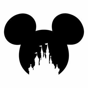 Wall or Laptop Disneyland Castle Decal Vinyl Sticker for Car