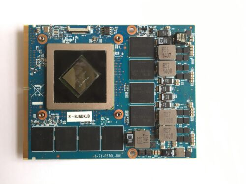 Clevo AMD Radeon R9 M290X HD8970M 4GB for Clevo P370SM P375SM Alienware M17X R2
