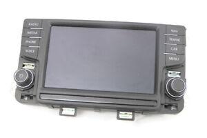 VW Polo 6R 6C Anzeige Bedieneinheit Radio Navi 6C0919603A Touch-Screen