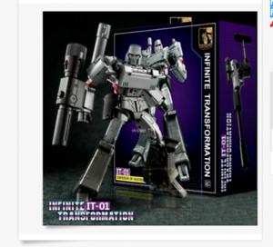 NEW Transformers Infinite IT01 Megatron Emperor of Destruction Figure!