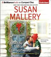 Marry Me At Christmas (fool's Gold 19) By Susan Mallery Unabridged Cd Audiobook