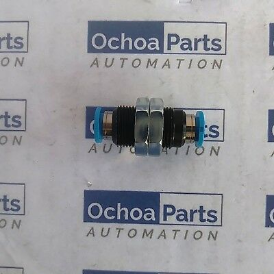 FESTO 153159 PUSH-IN BULKHEAD CONNECTOR QSS-8 BLUE 0.95-6 BAR 1PC