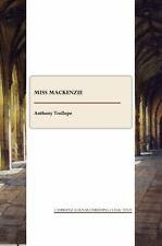 Miss Mackenzie-ExLibrary