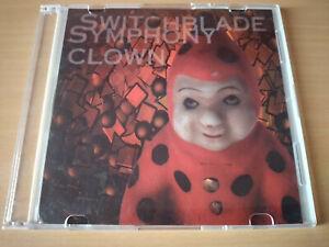 SWITCHBLADE-SYMPHONY-Clown-CD-Single-Dark-Wave-Goth-Rock