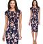Elegant-Women-Office-Formal-Business-Work-Party-Sheath-Tunic-Pencil-Mini-Dresses thumbnail 11
