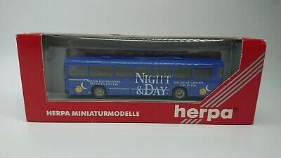 Herpa H0 141383 MAN SÜ 240 V 2 Bus Night and Day Stadtbus Linienbus OVP HO 1:87