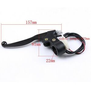 Go Kart Scooter Professional Brake Lever And Cable For Mini Bike Mini Chopper