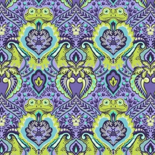Limited Stock ALL STARS Frog Prince in Orchid by Tula pink cotton fabric