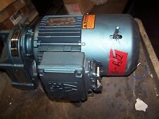 Sew Eurodrive 2 Hp Ac Electric Brake Gearmotor 108 Rpm Output 460 Vac Tefc