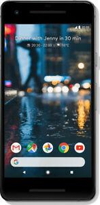 Google-Pixel-2-64GB-Just-Black-Neuwertig-Display-Burn-In