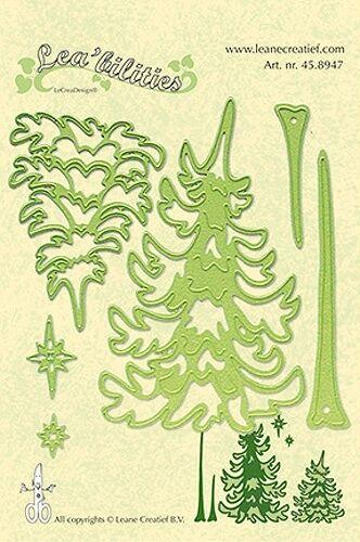 Stanz-/Prägeschablone Lea´bilities Pine tree Weihnachtsbaum Kiefer Leane 45.8947