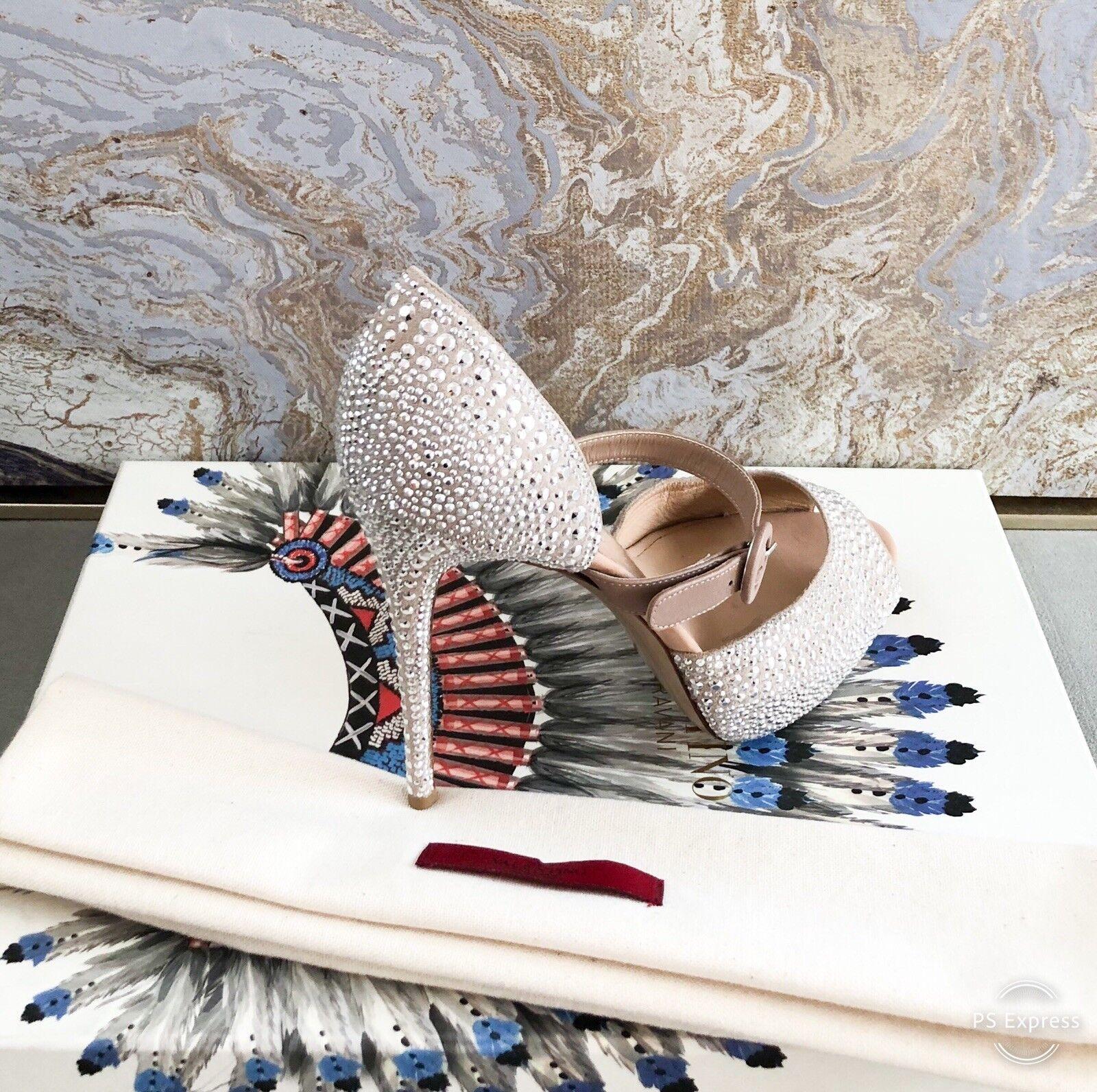 Valentino Valentino Valentino Microstud Mary Jane Strass Embellished Pump 837df7
