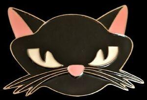 PINK-EARS-CAT-KTTY-KITTEN-BELT-BUCKLE-BELTS-BUCKLES