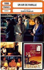 Fiche Cinéma. Movie Card. Un air de famille (France) Cédric Klapisch 1996