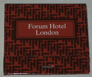 Image Is Loading 1990 039 S Forum Hotel London Matchbook Complete