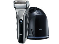 Braun 590cc-4 Mens Clean & Renew System Cordless/rechargeable Shaver