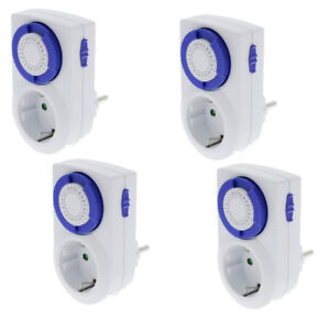 4-x-Analog-Day-Timer-002-Mechanical-with-Child-Protection-230V-16A-Switch