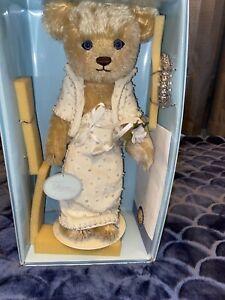 FRANKLIN-MINT-The-Princess-Diana-Collector-Bear-With-COA