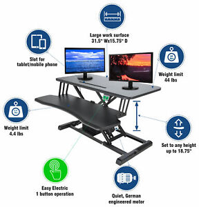 Electric-Standing-Desk-Height-Adjustable-Motorized-Sit-to-Stand-Desk-Converter