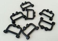 Used condition Bars N620 Fencing 7x Black Lego Railings