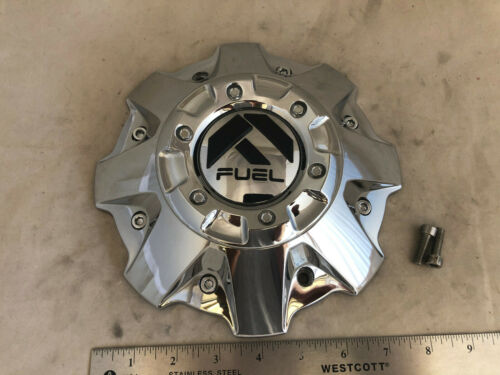 FUEL Wheels CHROME Wheel Rim Hub Cover Center Cap M-447 1001-63B M542