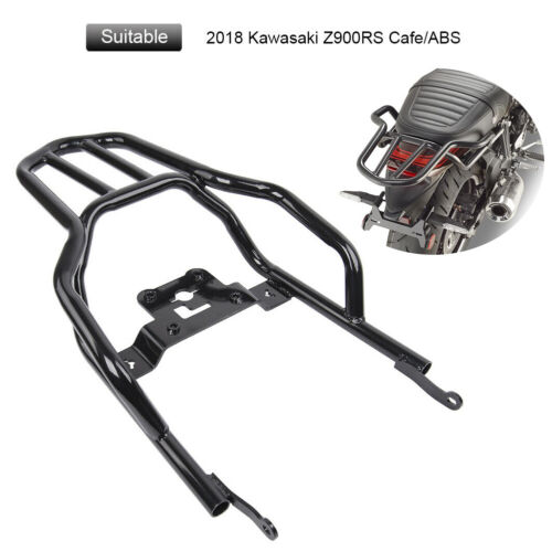 Black Top Case Rear Luggage Rack Seat Mount for 2018 Kawasaki Z900RS ABS Cafe