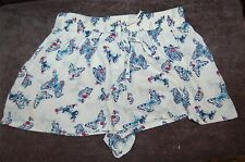 M&S Lounge Shorts Pyjama Bottom Shorts Butterfly Size UK 14 EUR 42 BNWT