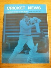14/05/1977 Cricket News: Vol.01 No.03 - A Weekly Review Of The Game, Cover Image