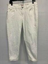 1fbdae9a Denizen from Levis Women's Modern Crop Capri Pants White Denim Jeans Size 12