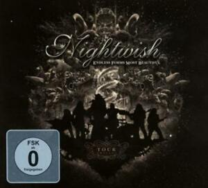 Endless-Forms-Most-Beautiful-Tour-Edition-von-Nightwish-2015-CD-DVD-Neuware