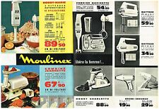Publicité Advertising 1964 (2 pages) Robot-Marie Combiné Jeannette Moulinex