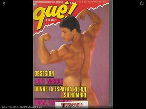 QUE-TE-VA-N-16-Magazine-vintage-gay-Spain-anos-90