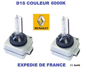 D1S 6000K 35w Xenon Renault Laguna III 3 Grandtour KT01