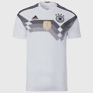 2de4f13ab Image is loading ADIDAS-GERMANY-HOME-JERSEY-WORLD-CUP-2018-White-