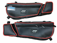 Can Am Maverick X3 PRP door bags bag set of 2 Blk//Rd #E60-210R