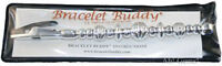 The Original Bracelet Buddy Helper Fastener - Brand Silver - Free Gift Wrap