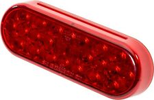 """RED LENS L.E.D.4050 TRUCK-LITE 24 LED 4/"""" RND STOP//TAIL//TURN REPLACEMENT LAMP,"""