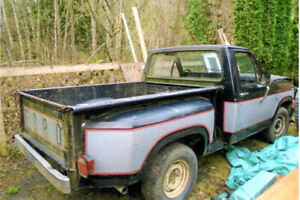 1981 ford f100 shortbox