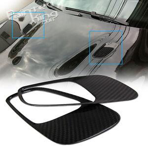 ++Carbon Fiber BMW 3er E90 E92 E93 Front Hood Vents Air Dust M3 Model §