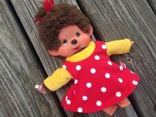 Kleid Nachthemd für MONCHICHI Gr.20 MONCHHICHI  Punkte rot gelb Kleidung NEU